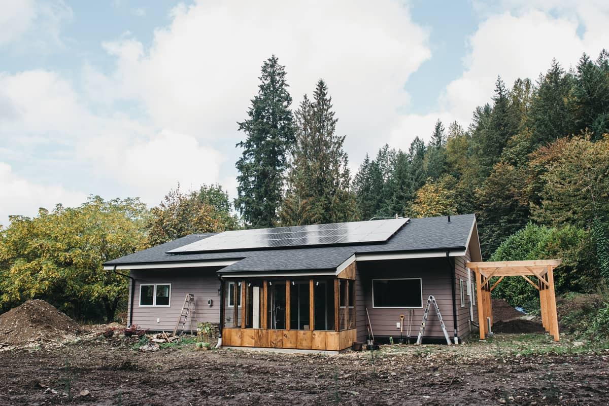 Zero-energy home